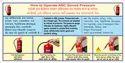 Abc Powder Type Fire Extinguisher Refilling Capacity-01kg