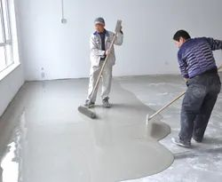 Flooring Plaster of Paris