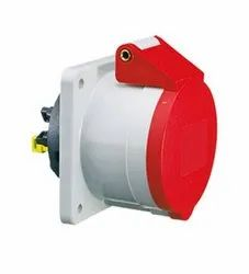 PANEL MOUNTING INDUSTRIAL PLUG &SOCKETS IP-44