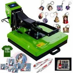 Yeah Heat Press Printing Machine, Photo Printing, Capacity: 1000 Pieces Per Day