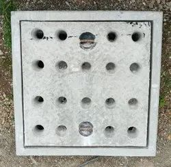 24x24 Inch Heavy Duty Grey Iron Manhole Cover