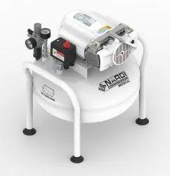 Nardi-Oil Free Medical Dental Compressor Model: Esprit-2v-65/2-25lt