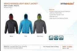 Men's Hooded Light Quilt Jacket