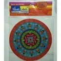 10 Inch Holographic Rangoli Sticker