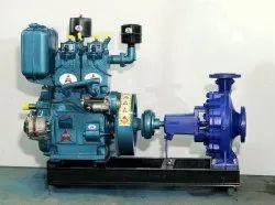 20 Diesel Pump Set / KSB Pump, For Industrial, Model Name/Number: PREMKSB20hp