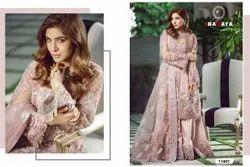 Net Anarkali type suit Shanaya Rose