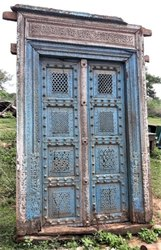 Architectural Carved Door