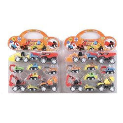Plastic 278-9 Toy Truck Set