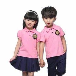 Summer Cotton School Uniform, Size: XS - L