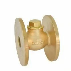 1012 Flanged Bronze Horizontal Check Valve