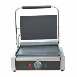 Stainless Steel Sandwich Griller Plain, For Commercial, Model Name/Number: Md : 167-b