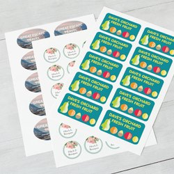 Paper Label Printing, For Book Lables