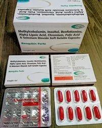 Benfotiamine, Alpha Lipoic Acid, Inositol, Mecobalamin, Folic Acid, Chromium And Selenium Capsules