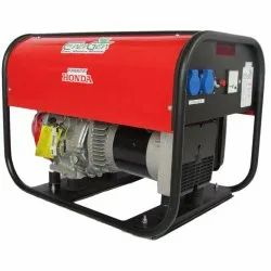 Three Phase Portable Non Silent Genset 5.5 Kw From Honda