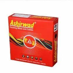 1.5 sqmm 1.0Sqmm Ashirwad House Wire, 90m
