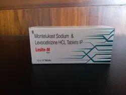 Levocetrizine 5mg   Montelukast 10mg