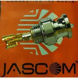 Jascom Brass BNC Connector, For CCTV