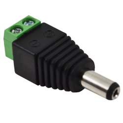 DC Connector, 10 Degree C, Plastic