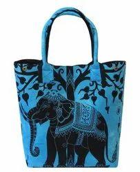 Cotton Elephant Tree Hippie Ladies Shoulder Bags
