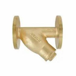 1054 Flanged Bronze Y-Type Strainer