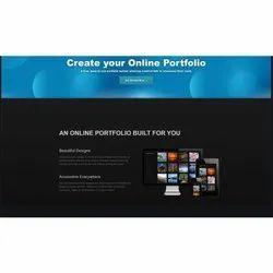 Dynamic Personal Portfolio Website Internet Web Development Services, With 24*7 Support