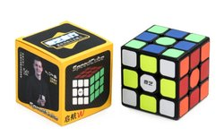 Multicolor Non Toxic QiYi Sail W 3x3 Rubik Cube, 5.6cm