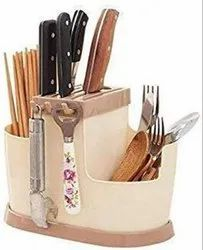 3 in 1 Multi Functional Self Draining Organizer Chopsticks Basket Knife