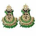 Pearls Various Kundan Earrings Jewellery
