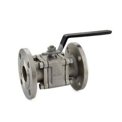 1081A Flanged SS 3 Piece Design Ball Valve