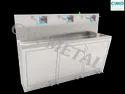 3 Bay Stainless Steel Scrub Sink
