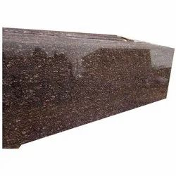 Brown Polished Big Cateye Granite Slab, For Countertops, Thickness: 16 mm