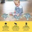 Big Plush Sea Turtle Stuffed Animal Tortoise Toys For Children Girlfriend