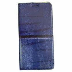 Canvas Cotton Blue Rich Boss Flip Cover