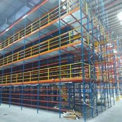Stainless Steel Multi Tier Storage Rack, For Warehouse, Height: 20 Feet