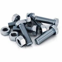 Hexagonal Stainless Steel Hex Bolts, For Construction, Size: M3 To M48