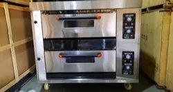 Janshakti Bakery 2 Deck 4 Tray Baking Oven