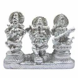 Parad (Mercury) Lakshmi Ganesh Saraswati