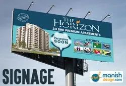 Outdoor Hoarding / Signage Design Services