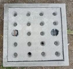24x24 inch Medium Duty Grey Iron Manhole Cover