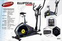 Heavy Duty Elliptical Cross Trainer With Seat 674