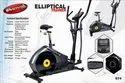 Heavy Duty Elliptical Cross Trainer With Seat 674