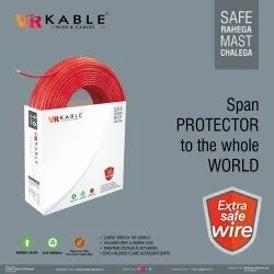 VR Kable 1.00 Sq Mm Extra Safe Wire Red