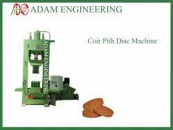 Coir Pith Disc Making Machine Single Mode