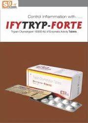 Trypsin Chymotrypsin 100000 a.u