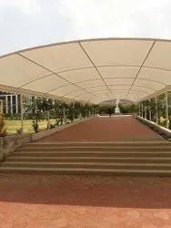pathway tensile structure