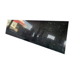 Polished Coin Black Granite Slab, For Countertops, Thickness: 16 mm