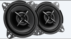 Sony XS-FB102E Mega Bass 4- Inch (210 W) Coaxial Car Speakers (black)   (for All Cars)