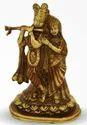 1330 Gm Brass Statue Radha Kishan Ji