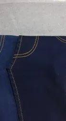 Cotton X Poly Silky Satin Denim Fabric