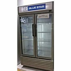 Blue Star Glass Display Cooler